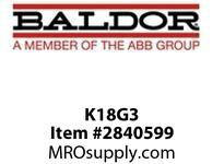 BALDOR K18G3 180 TEFCXT C-FACE KIT :