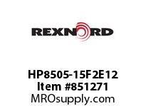 REXNORD HP8505-15F2E12 HP8505-15 F2 T12P N1.5 HP8505 15 INCH WIDE MATTOP CHAIN WI