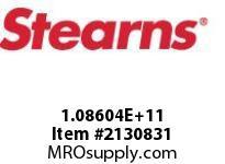 STEARNS 108604202027 BK-RL TACH MACHSWNO HUB 124405