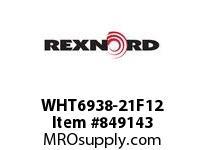 REXNORD WHT6938-21F12 WHT6938-21 F1 T12P N1.5 WHT6938 21 INCH WIDE MATTOP CHAIN W