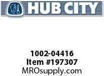 HUBCITY 1002-04416 FB220NX1-3/8 FLANGE BLOCK BEARING