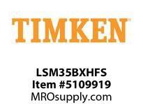 TIMKEN LSM35BXHFS Split CRB Housed Unit Assembly