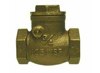 MRO 940358 2 1/2 BRASS SWING CHECK VALVE