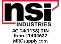 NSI 4C-14(1138)-2IN 4-14 COPPER