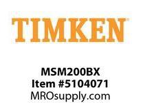 TIMKEN MSM200BX Split CRB Housed Unit Component