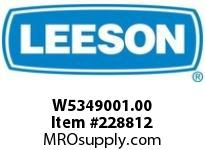 LEESON W5349001.00 GEARMOTOR - CUSTOM 1835 LB IN @ 34 RPM AC 3 PH 1 5 HP