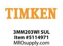 TIMKEN 3MM203WI SUL Ball P4S Super Precision