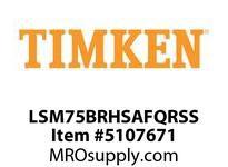 TIMKEN LSM75BRHSAFQRSS Split CRB Housed Unit Assembly
