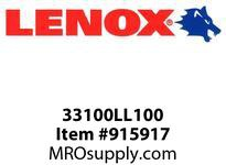 Lenox 33100LL100 LEADER BITS-LL100 LEADER 1 25MM 1/PK-LL100 LEADER 1 25MM 1X- LEADER 1 25MM 1/PK-LL100 LEADER 1 25MM 1X-