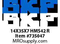 SFKSEAL 14X35X7 HMS42 R