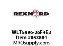 REXNORD WLT5996-26F4E3 WLT5996-26 F4 T3P N1.3125 WLT5996 26 INCH WIDE MATTOP CHAIN W