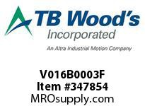 TBWOODS V016B0003F MODEL #1016B103F