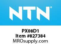 NTN PX08D1 Cast Housing