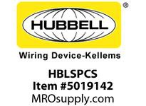 HBL_WDK HBLSPCS SINGLE POLE PROT COV SLEEVE