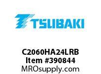 US Tsubaki C2060HA24LRB C2060H RIV 4L/A-2