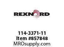 REXNORD 114-3371-11 CT LPC279K325 R500 U-R SP CORNER TRACK LPC279K3.25 500MM CENT