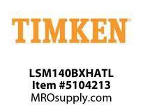 TIMKEN LSM140BXHATL Split CRB Housed Unit Assembly