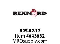 REXNORD 895.02.17 CS1000-12T 30MM 2KW CS1000-12T SOLID SPROCKET WITH 30MM