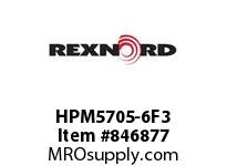 REXNORD HPM5705-6F3 HPM5705-6 1F60-T3P HP5705 6 INCH WIDE MATTOP CHAIN WIT