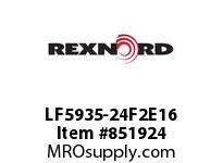 REXNORD LF5935-24F2E16 LF5935-24 F2 T16P N20MM LF5935 24 INCH WIDE MATTOP CHAIN WI
