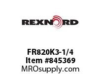 REXNORD FR820K3-1/4 FR820K3.25 FR820 3.25 INCH WIDE TABLETOP CHAIN