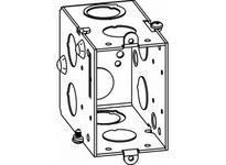 Orbit GDB-1-NE 1-G GANGABLE SW BOX 3-1/2^ DEEP NO EARS