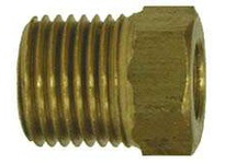 MRO 12014 1/4 INVERTED FLARE BRASS NUT (Package of 20)
