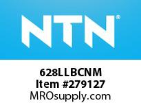 NTN 628LLBCNM EXTRA SMALL BALL BRG