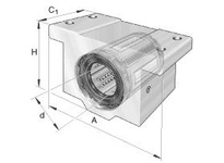 INA KGX08PP Max? linear aligning bearing unit