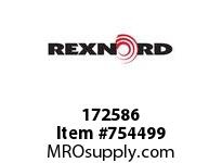 REXNORD 172586 73030105610 30 HCB 1.7500 BORE 2 SS