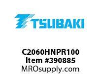 US Tsubaki C2060HNPR100 C2060HNP RIV 100FT REEL