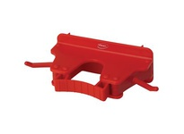 "REMCO 10174 Vikan Wall Bracket 9.5"" Wall Bracket- Red"