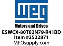 WEG ESWCX-80T02N79-R41BD XP FVNR 50HP/460 N79 230/120V Panels