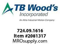 TBWOODS 724.09.1616 MULTI-BEAM 09 1/8 --1/8