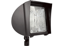 RAB FX100 FLEXFLOOD 100W HPS 120V HPF WITH ARM + LAMP BRONZE