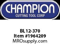 Champion BL12-370 CARB TIP LEAD ANGLE TURN TOOL