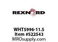 REXNORD WHT5996-11.5 WHT5996-11.5 126499