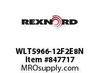 REXNORD WLT5966-12F2E8N WLT5966-12 F2 T8P WLT5966 12 INCH WIDE MATTOP CHAIN W