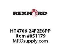 REXNORD HT4706-24F2E8PP HT4706-24 F2 T8P PP ROD HT4706 24 INCH WIDE MATTOP CHAIN WI