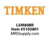 TIMKEN LSM80BR Split CRB Housed Unit Component
