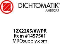 Dichtomatik 12X22X5/8WPR WIPER