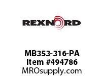 MB353-316-PA BRG& S.S. MB353-316-PA 5800299
