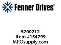 "FENNER 5700212 BLACK KNOBS 1/4"" X 20"