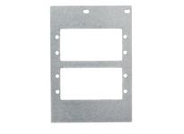 HBL_WDK FB10MPAAP MOUNT PLT 10-G BOX 2G PLATE FOUR AAP