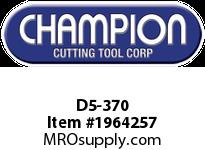 Champion D5-370 CARB TIP POINTED NOSE TOOL