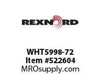 REXNORD WHT5998-72 WHT5998-72 144501