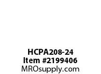 PTI HCPA208-24 TAPPED BASE PILLOW BLOCK BEARING-1- PA 200 SILVER SERIES - NORMAL DUTY