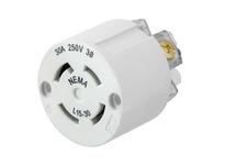 HBL_WDK HBL29W75IN WT INTERIOR NEMA L15-30R 30A/250V 3PH