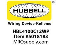 HBL_WDK HBL4100C12WP IECCONN3P4W 100A 125/250V4X/IP69PIN