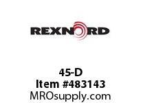 REXNORD 6100241 45-D CAST DET CHAIN